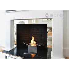 zen bio fireplace in mirrored finish bio fires gel fireplaces ltd