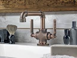 style kitchen faucets beautiful industrial style kitchen faucet 13 with additional home