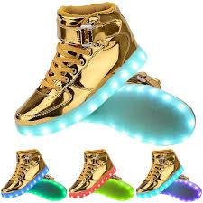 high top light up shoes light up high top sports sneakers shoes women men high top usb