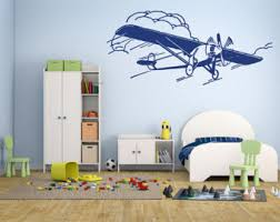 Airplane Kids Room by Taildragger Etsy