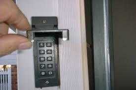 Reprogram Garage Door Opener by How To Change Code On Chamberlain Garage Door Keypad Wageuzi