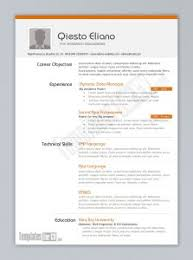 Perfect College Resume Free Resume Templates Example Of Perfect Application
