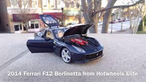 Ferrari California Navy Blue - 2014 ferrari f12 berlinetta from hotwheels elite scale 1 18 youtube