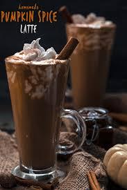 healthy pumpkin spice latte vegan