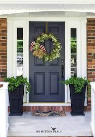 patriotic porch decor ideas on sutton place