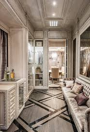 Contemporary Art Home Decor Neoclassical And Art Deco Features In Two Luxurious Interiors