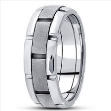 modern wedding rings for men unique gold wedding bands for men