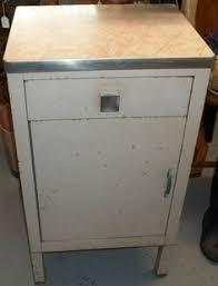 Vintage Metal Kitchen Cabinets Vintage Industrial Steel Medical Metal Deco Cabinet Ebay