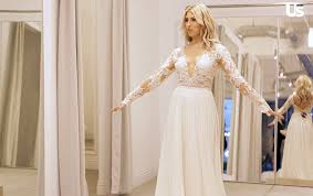 in wedding dress dwts pro slater tries on wedding dresses