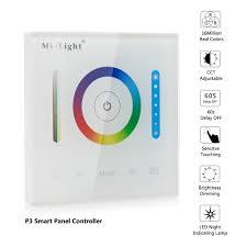 p3 led smart panel controller for rgb rgbw rgb cct led strip