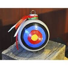 archery target metal ornament archery target and ornaments