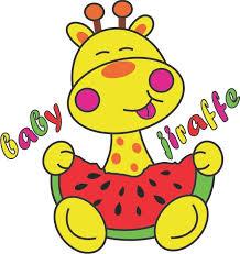 imagenes de jirafas bebes animadas para colorear dibujos animales jirafas bebés imagui