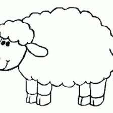 sheep coloring kids animal coloring pages coloring