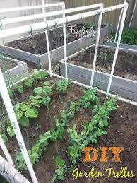 build a garden trellis diy garden trellis