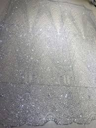 glitter tulle online shop free shipping silver print glued glitter tulle