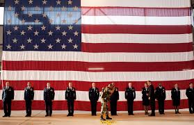 The America Flag Free Public Domain Image President Obama With Military Personnel