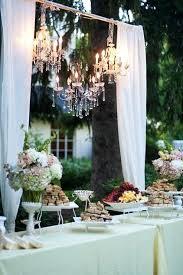 Decor Chandelier Wedding Chandelier Decorations In The Cocktail Area Wedding Decor