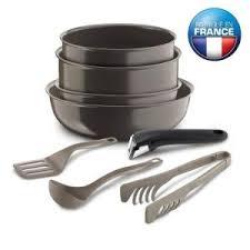 batterie de cuisine ceramique batterie de cuisine 8 pièces tefal céramique tous feux