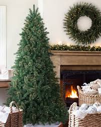 crescent hill cashmere narrow christmas tree balsam hill