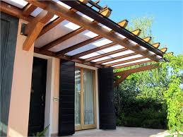 tettoie in legno e vetro tettoie in legno per terrazzi prezzi con coperture bellissimo con