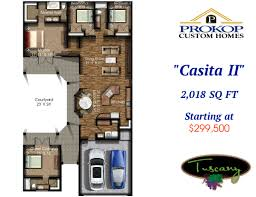 available floor plans in tuscany prokop custom home builders