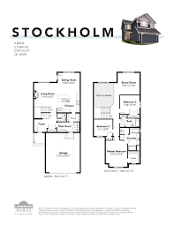 garage dimensions stockholm landmark homes new home builder in edmonton and calgary