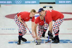 Norwegian Flag Pants Team Norway U0027s Curling Pants Take Olympic Fashion To The Next Level