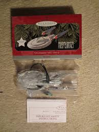 hallmark keepsake magic ornament trek