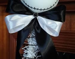 nightmare before christmas ribbon nightmare etsy