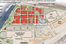 Mbta Maps by Ikea At Somerville U0027s Assembly Row Still On Mbta Unconcerned