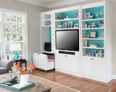 Built In Wall Units For Living Rooms by Wall Unit With Tv And Workstation House Ideas Pinterest