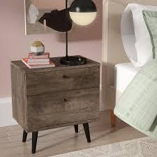 langley street norloti 2 drawer nightstand u0026 reviews wayfair
