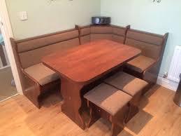 kitchen accent furniture diy corner kitchen table brown counter puck lights brick columns