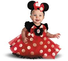 halloween costumes for babies disney red minnie mouse infant costume disney puppys and costumes