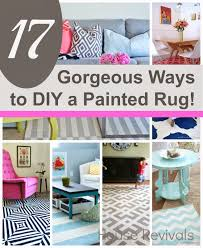house revivals 17 absolutely gorgeous painted rugs to inspire you