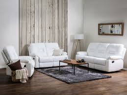 Faux Leather Living Room Set White Faux Leather Living Room Furniture Set Bergen