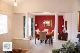 great room mini makeover new paint new color palette how to