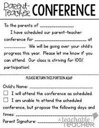 parent teacher conference tip send home parent teacher conference