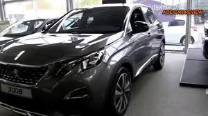 peugeot 3008 2015 interior 2018 peugeot 3008 review interior and exterior youtube