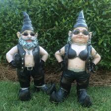 halloween garden gnomes homestyles u0026 8482 nowaday gnomes u0026 8482 biker gnomes u0026 8482