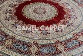 floor alluring round area rugs walmart modern fancy design red