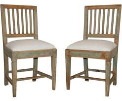 country chairs swedish gustavian dining chairs