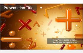 free math powerpoint template 5057 13947 free powerpoint