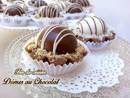 cuisiner pour amoureux dômes au chocolat gâteaux orientaux fond de tarte