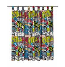 graffiti boys bedroom boys cool graffiti bedroom curtains drop 54 amazon co uk