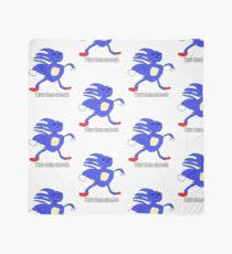 Sonic Gotta Go Fast Meme - gotta go fast scarves redbubble