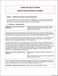 change impact analysis template template update234 com