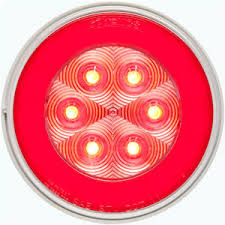 Optronics Led Trailer Lights 6in Oval Led Park Turn Tail Light Amber Stl 72ab Optronics