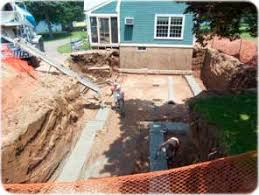 how to build a floor for a house how to guide for pouring a foundation