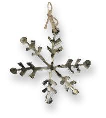 snowflake ornament gatski metal